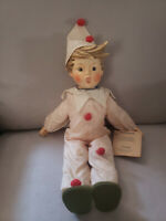 Antique Vintage  M.J .Hummel Goebel Carnival Hummel Soft Body Porcelain Doll