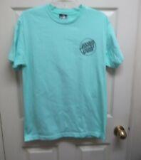 Tilly's Santa Cruz Men's M Opus Dot Aqua T-shirt Front Left Chest Logo.  NWOT