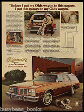 1977 OLDSMOBILE CUSTOM CRUISER advertisement, Olds Custom Cruiser Station Wagon