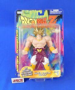 Super Saiyan Broly Series 12 Figure Dragon Ball Z 2000 Irwin Toys New on Card