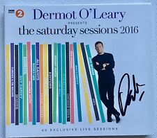 DERMOT O'LEARY SATURDAY SESSIONS 2016 HAND SIGNED CD ALBUM AUTOGRAPHED X FACTOR
