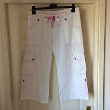 BNWT GENUINE HOOCH @ BENCH CROPPED SHORTS TROUSERS SZ 10 12  W 29 NEW RRP £40