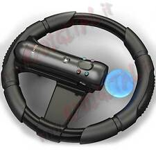 WHEEL for SONY PLAYSTATION 3 MOVE PS3 STEERING DRIVING CONSOLE SPORT WHEEL