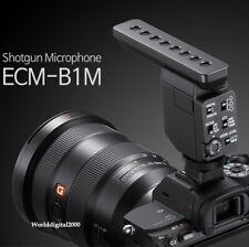 SONY Shotgun Microphone ECM-B1M  Noise Cancelling  For SONY Digital Camers