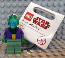 NEW Lego Star Wars Keychain Onaconda Farr Minifig