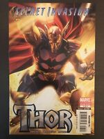 Secret Invasion Thor #1 Beta Ray Bill 2008 Variant Marvel Comic Book