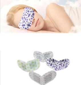 Sleep Masks Eye Mask Lavender Oil Steam Face Care Skin Dark Circle Eye Bags