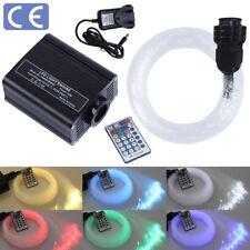 16W RGBW LED Fiber Optic Light Star Ceiling Kit Lights with RF Remote Control UK