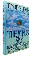 Timothy Ferris THE MIND'S SKY  1st Edition 1st Printing