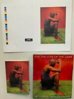 (3) MICHAEL JORDAN FOR THE LOVE OF THE GAME BOOK WITH DIGITAL PROOF & BROCHURE