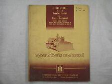 Ih International Td30 Td 30 Crawler Dozer Operators Manual