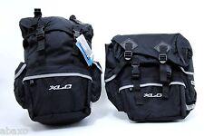XLC Bicycle Touring Rear Panniers Set,Bike Tour Bags,Black,PAIR