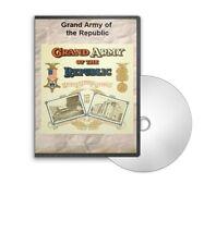 Grand Army of the Republic - GAR Civil War Vets - 33 Historic Books on CD - D363