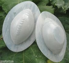 2 piece football mold plaster concrete casting mould