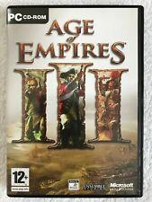 Age Of Empires III 3 - Windows PC - Complete - CD-ROM - Microsoft