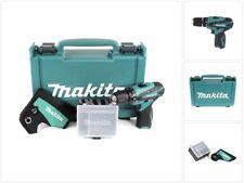 Makita DF 330 10,8 V Akku Bohrschrauber Solo im Koffer mit Holster und Behälter