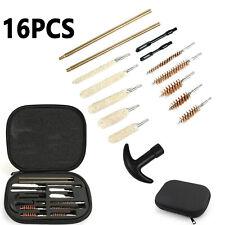 16pcs Universal Gun Cleaning Kit Universal for .22 38 40 44 45 357 cal 9mm
