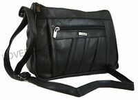 Lorenz Nappa Leather Organizer Handbag  1968 Shoulder Bag