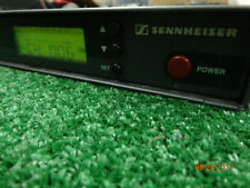 Sennheiser EW300 Diversity Receiver Frequency 630-662MHz w/Pwr Cord/Manual/Ant