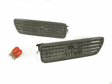 DEPO Crystal Smoke Bumper Side Marker Light Pair For 99-04 VW Golf GTi Jetta Mk4