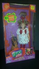 Playmates Cindy Lou Who w/ Max Talking Doll The Grinch Stole Christmas New