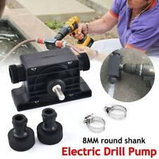 Hand Electric Drill Drive Self Priming Pump Oil Fluid Water Transfer Mini Pumps@