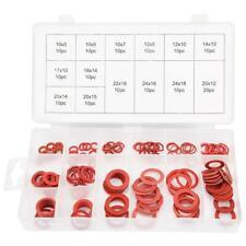 150pcs 14 Sizes Fiber Flat Washers Kit Insulation Washer Assorted Set with Box