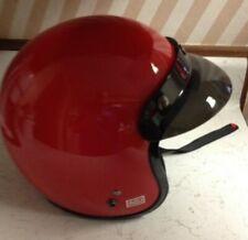 NWT/Box FULMER Open Face Red Gloss AFC Adjusta Go Kart Mini Bike Harley Helmet
