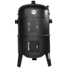 3in1 BBQ Holzkohlegrill Barbecue Smoker Räuchergrill Grilltonne B-Ware
