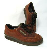 Mephisto Match Men's Walking shoes brown Pebble leather Sz US 8 Oxfords EUC