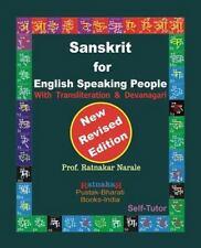 Sanskrit for English Speaking People: By Narale, Ratnakar