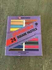 Alphacolor Pastels Weber Costello 24 Square 102004 Non-Toxic in Orignal Box Usa