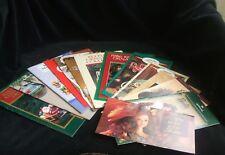 15 Vintage Hallmark Keepsake Ornament Booklets Barbie Kiddie Car Classics & More