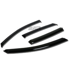 Fit 02-06 Focus Sedan/5D Smoke Tint Window Visor/Wind Deflector Vent Rain Guard