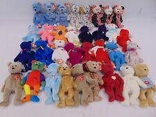 Large Bundle TY BEANIE BABIES Stuffed Toys Over 180 in Total Bears Animals - C34