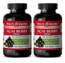 Super Berry For Kids Capsules - Acai Berry Extract 1200mg - Acai Plants 2B