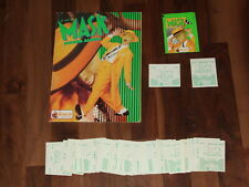 The MASK Merlin 1994 Complete Sticker Album & Loose Stickers Needed with a Twist