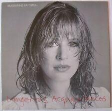 MARIANNE FAITHFULL  (LP 33 Tours)   DANGEROUS ACQUAINTANCES