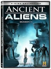 ANCIENT ALIENS 11 vol 1 2018: 11v1 - TV Series Season 13 (2018) - NEW 2x R1 DVD