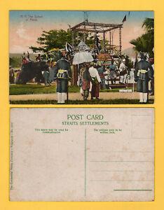 "Malaya picture postcard ""H.H. The Sultan of Perak"", unused."