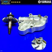 2001 Yamaha YZ125 Water Pump Cover Gear Shaft Impeller Coolant Drive 1999-2003
