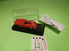 SOLIDO  1:43  ALFA ROMEO 33/3 LE MANS  NO = 38  -CAR  IN  GOOD  CONDITION