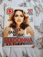 Madonna rare UK Q magazine special edition
