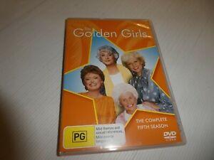 The Golden Girls : Season 5 (DVD, Region 4) HM16