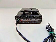 Sony FM/AM Walkman Radio SRF-21W Black w/Belt Clip & Headphones