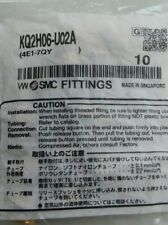 KQ2H06-U02 SMC NEW bag of 10 Unifit Male Fitting KQ2H06U02
