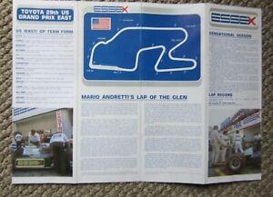 1979 USGP Watkins Glen Formula 1  F1 Essex Lotus Mario Andretti item