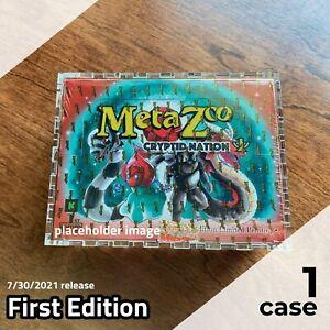 MetaZoo First Edition Booster Box Display Case | Framing-Grade Acrylic, lasercut