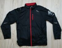 Asics Men's Wind Breaker Jacket Size Large GT Series Coat Running Athletic