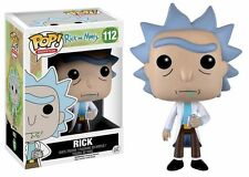 "RICK & MORTY - RICK 3.75"" POP VINYL FIGURE FUNKO 112 UK SELLER"